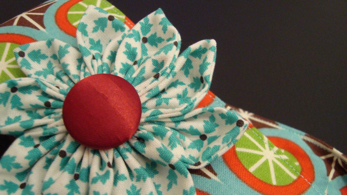 Flower Pin Closeup