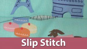 Slip Stitch