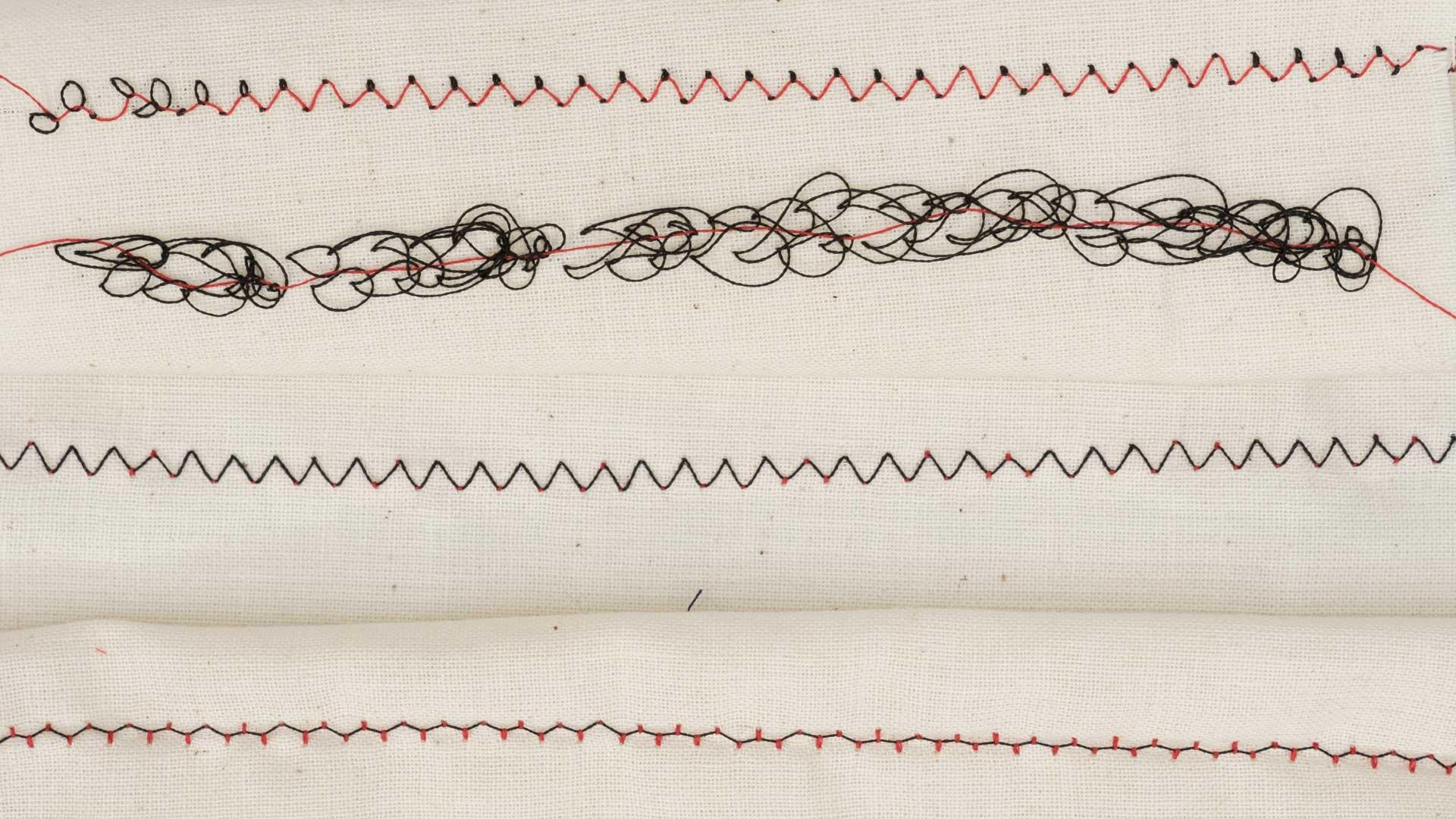 Sewing machine bottom thread too loose