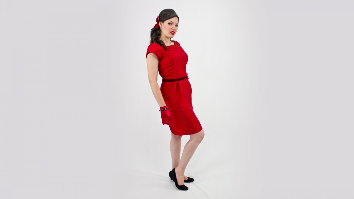 Simplicity Holiday Dress 2588 Side