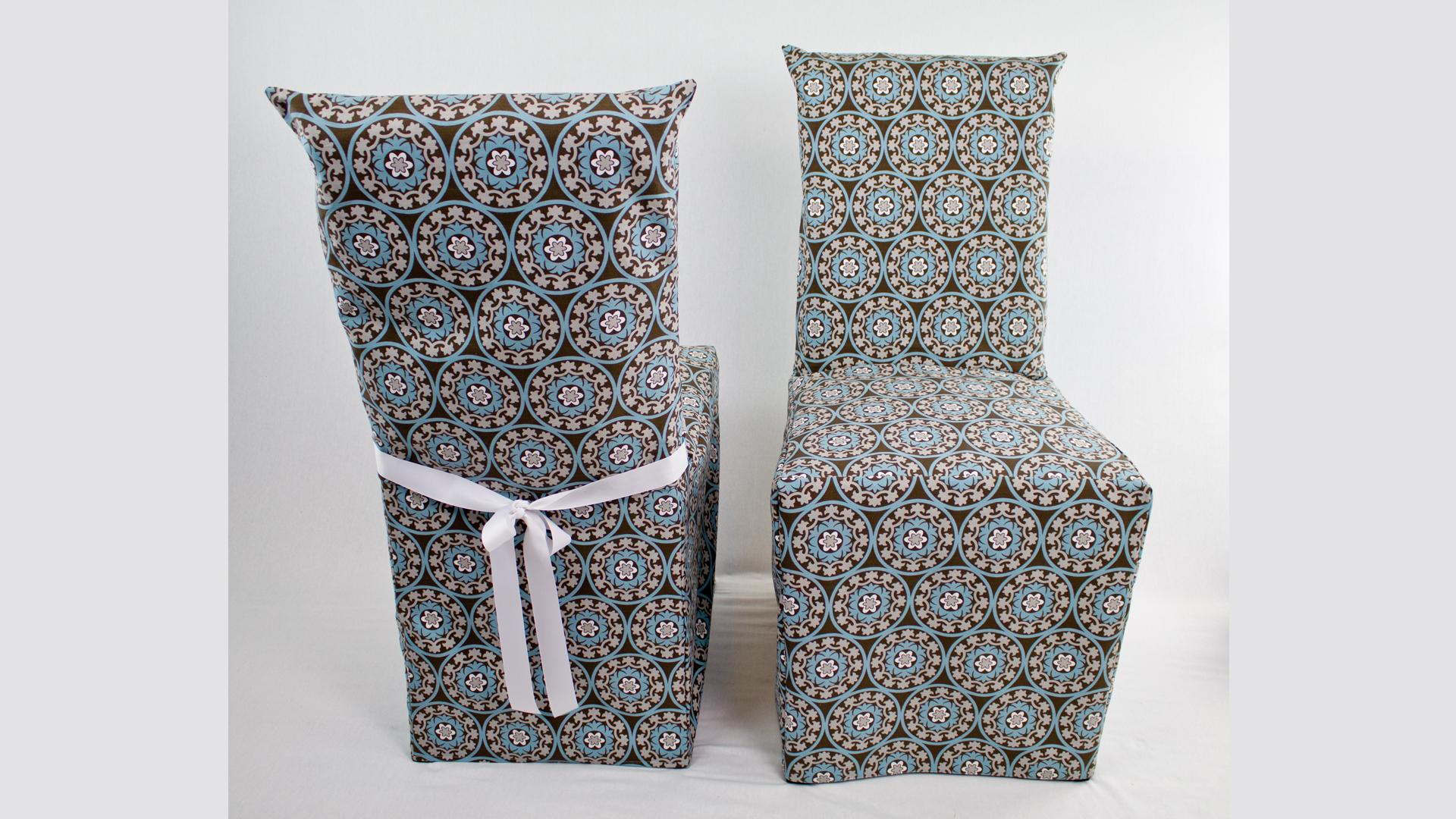 Armless Chair Slipcover Professor Pincushion