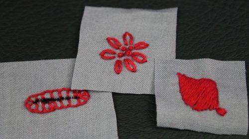 Hand Stitch Samples