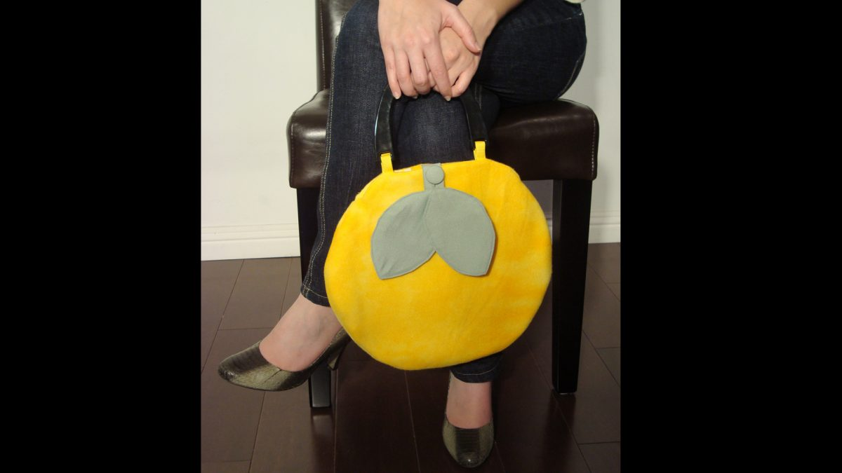 Lemon Purse Wideview