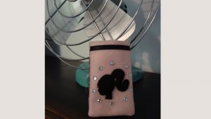 Barbie Phone Holder