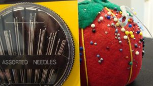 Straight Pins and Sewing Needles
