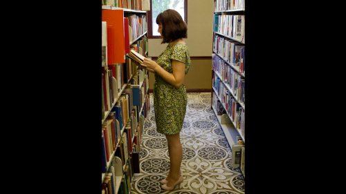 Mini Dress In Library