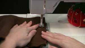 Sewing A Straight Seam