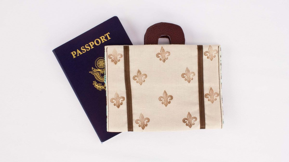 Suitcase Passport Cover