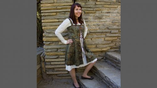 Simplicity 1773 Medieval Dress Series Underdress
