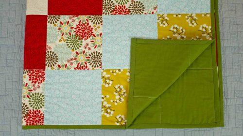 Block Quilt Fold