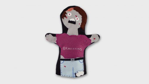Zombie Hand Puppet Zombie