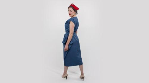 Butterick Pattern 5580 Classy Dame Dress Back
