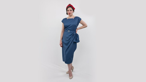 Butterick Pattern 5580 Classy Dame Dress