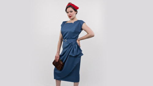 Butterick Pattern 5580 Classy Dame Dress Purse