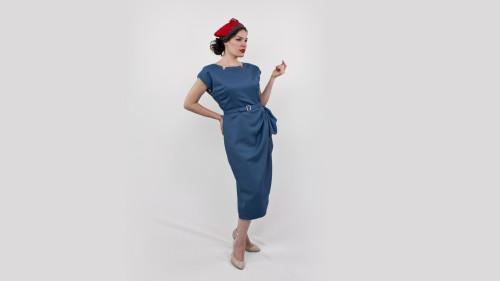 Butterick Pattern 5580 Classy Dame Dress Side