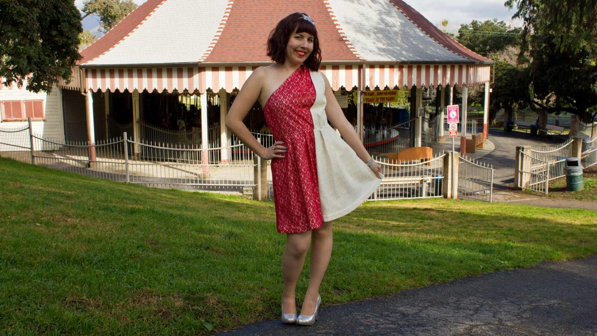 McCalls Pattern 6695 Lace Dress Front