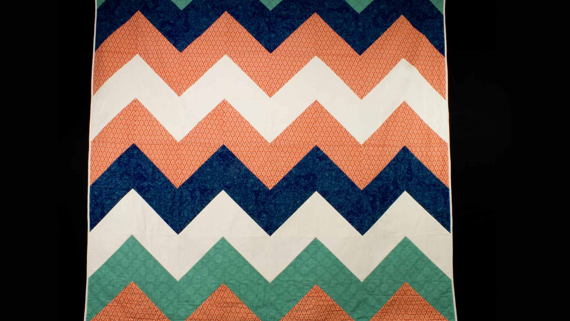 Chevron Quilt Top - Professor Pincushion : chevron quilt - Adamdwight.com