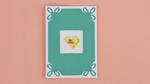 Cross Stitch Basics And Holiday Card Front