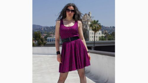 McCcall's Pattern 6754 Rocker Dress Close