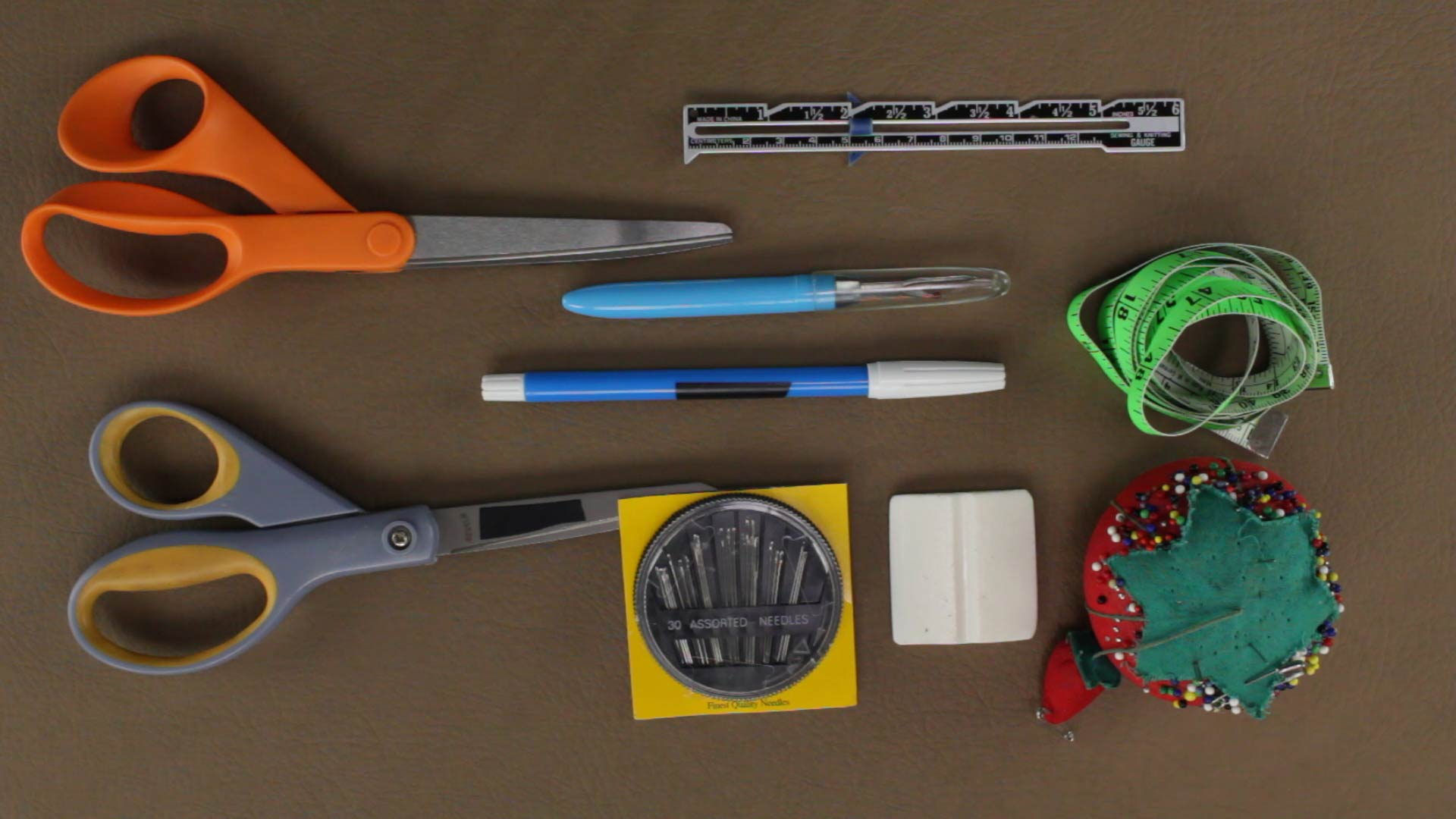 Beginner's Sewing Tools - ProfessorPincushion | Professor ...