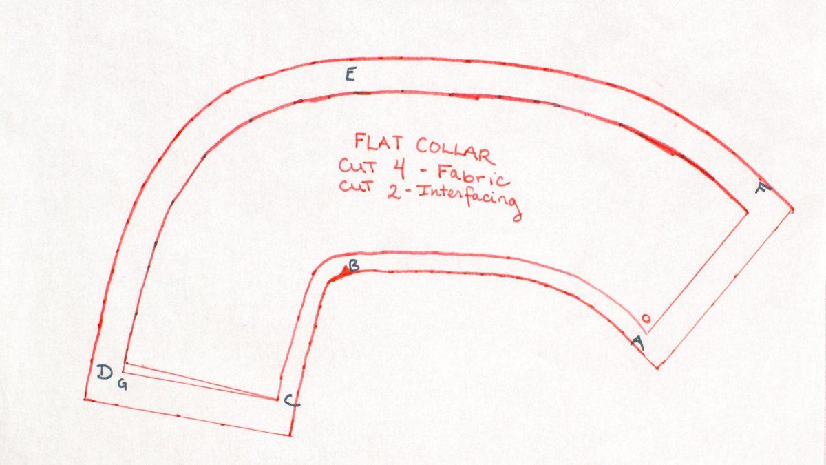 Flat Collar Pattern