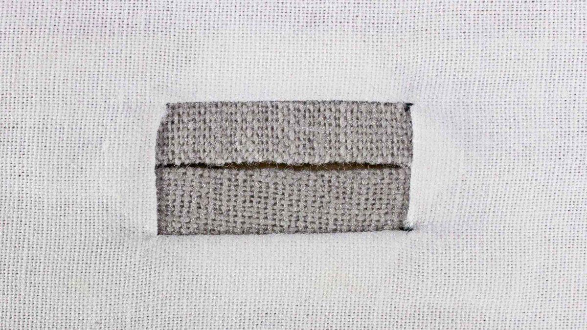 Bound Buttonhole - 2 Piece