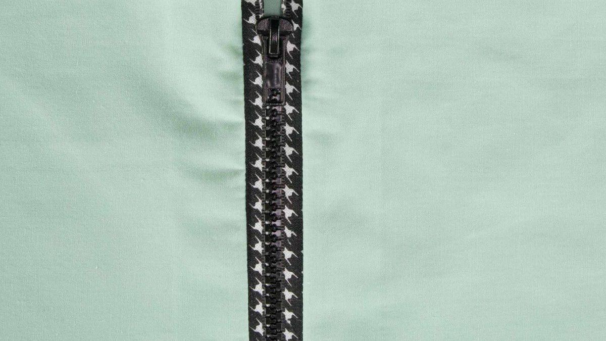 Exposed Zipper