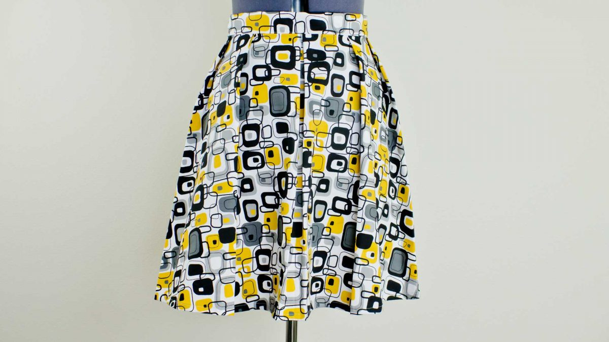 Skirt Pleat Pattern
