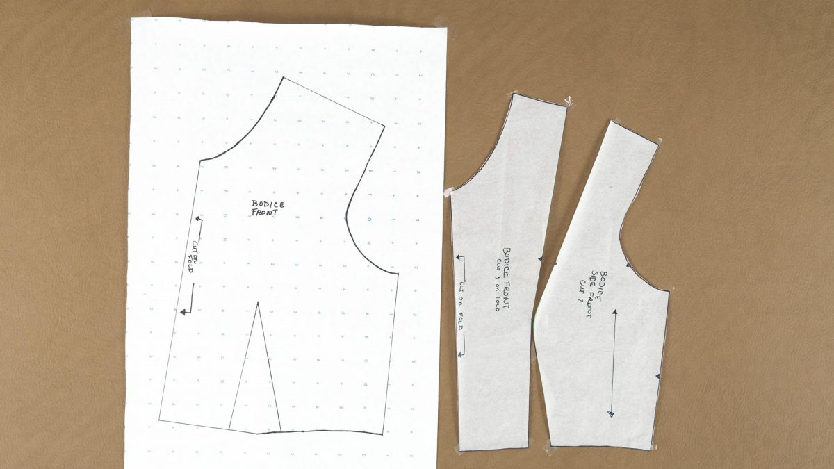 Princess Cut Bodice Pattern