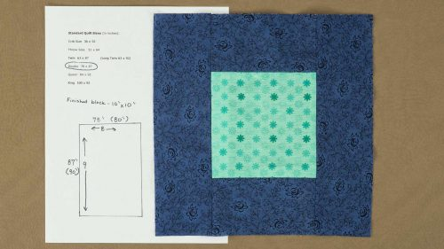 Quilt Top Fabric Calculation