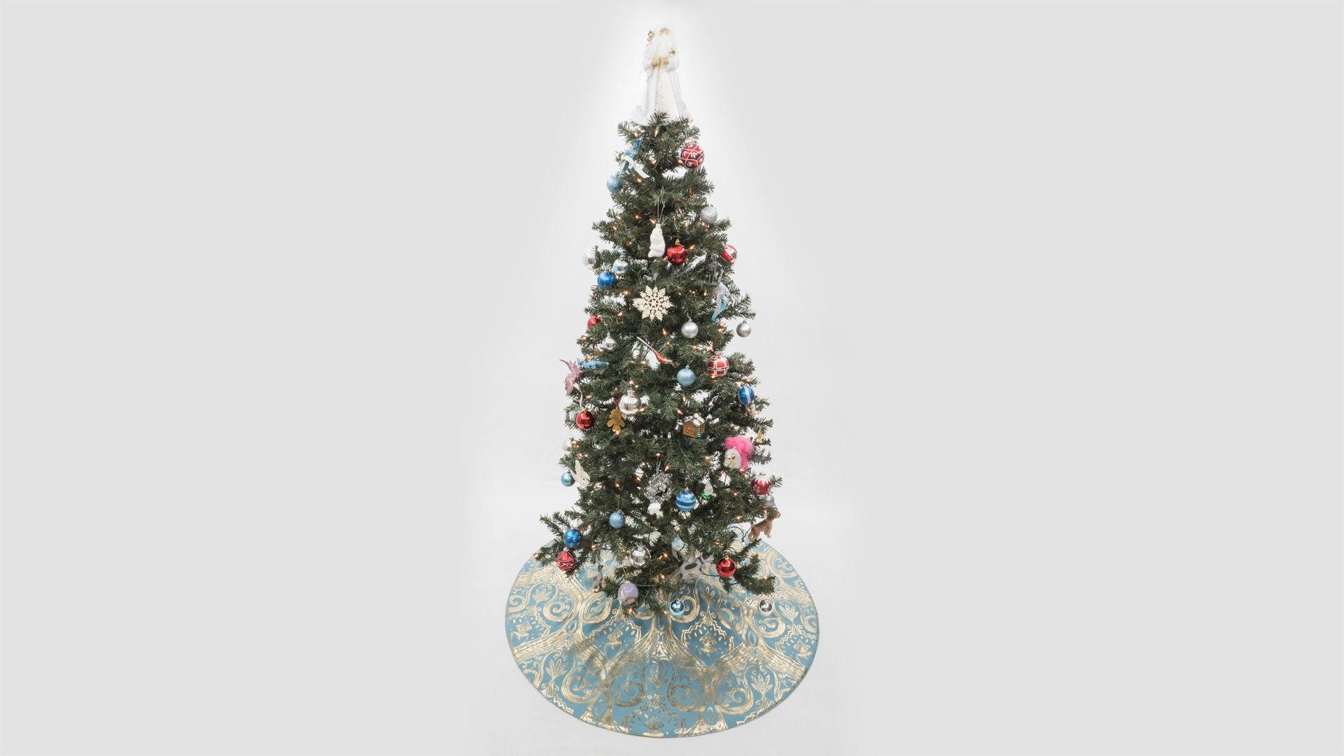 Christmas tree skirt professorpincushion professor