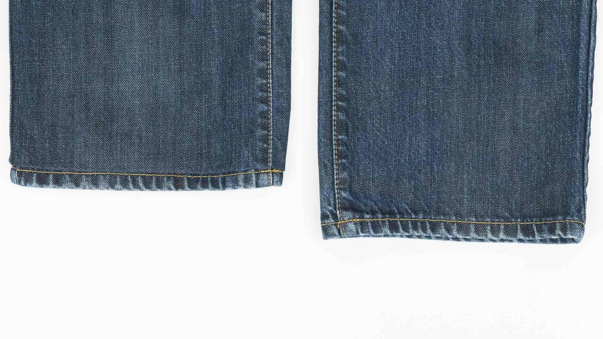 hem jeans with original hem professorpincushion