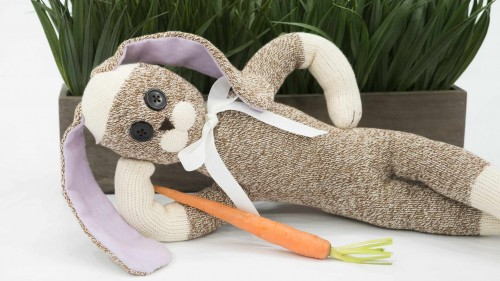 Sock Rabbit Side