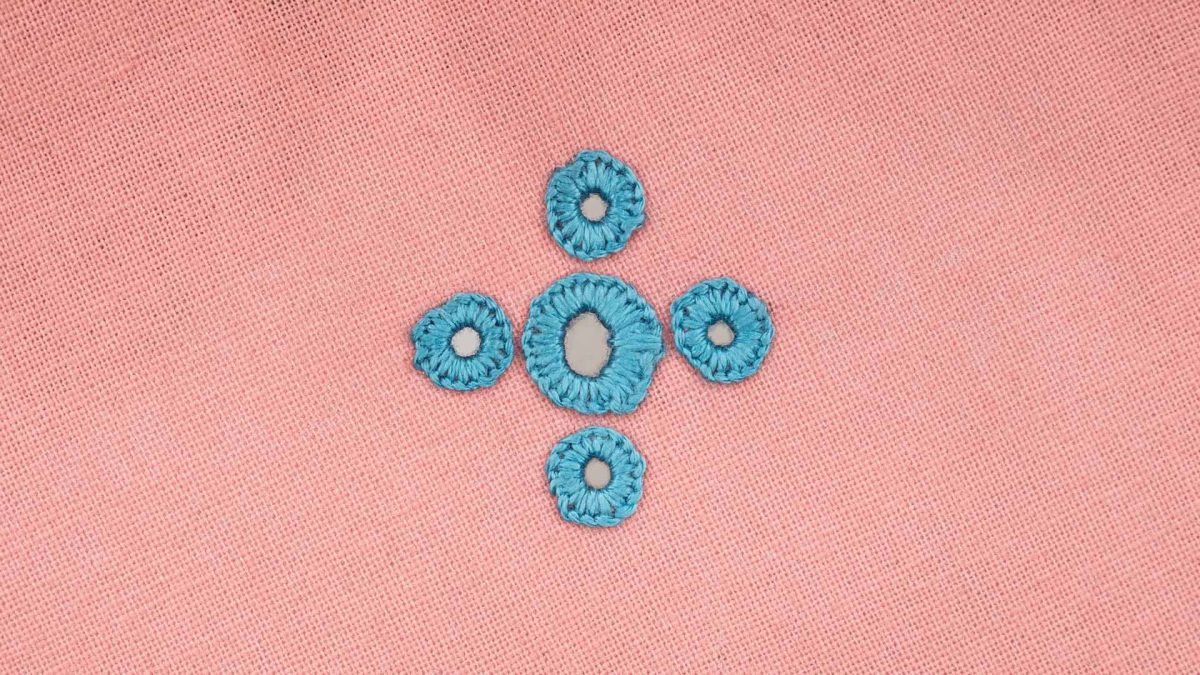 Embroidered Eyelet