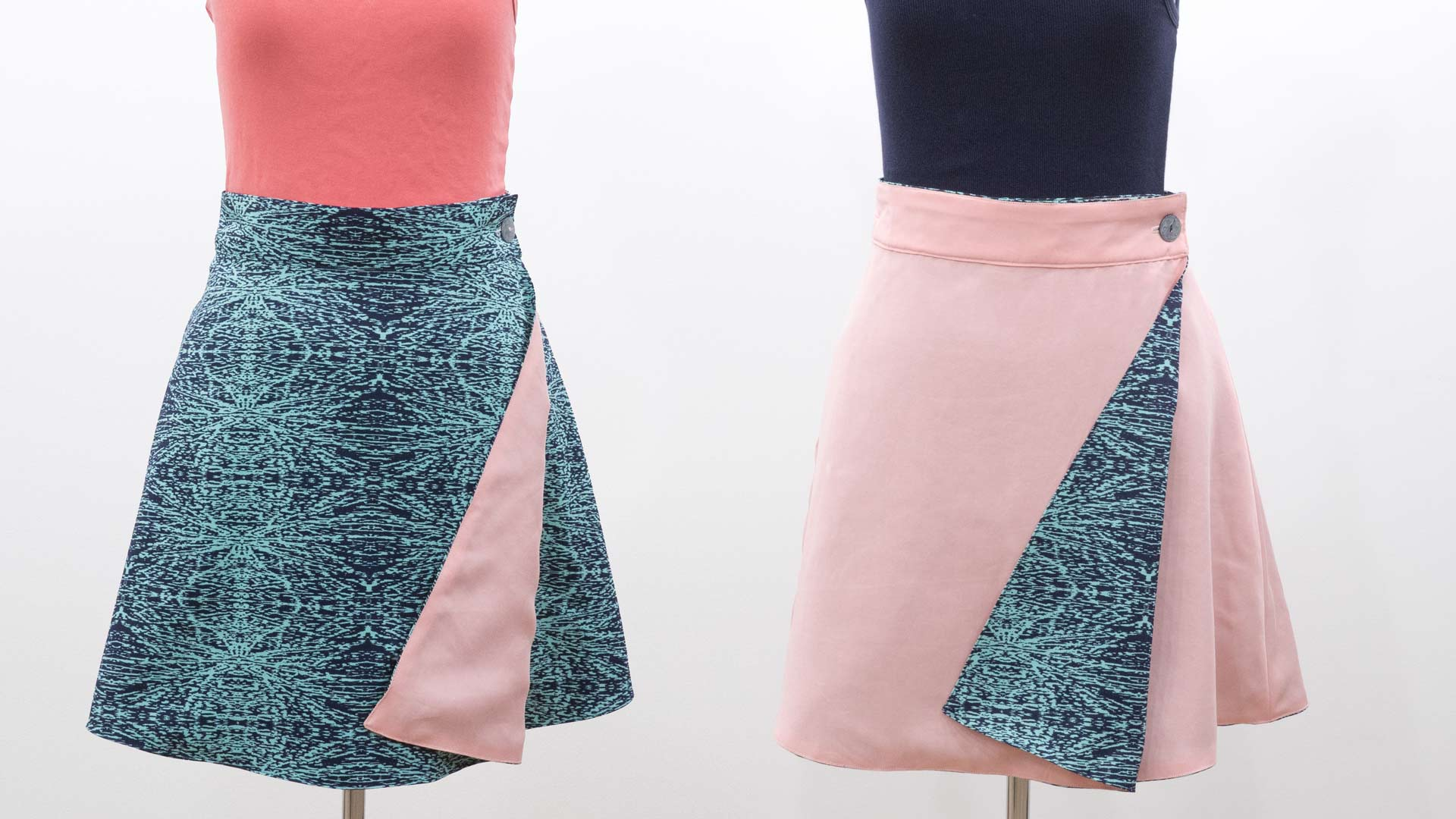Wrap Skirt Assembly - Reversible - Professor Pincushion