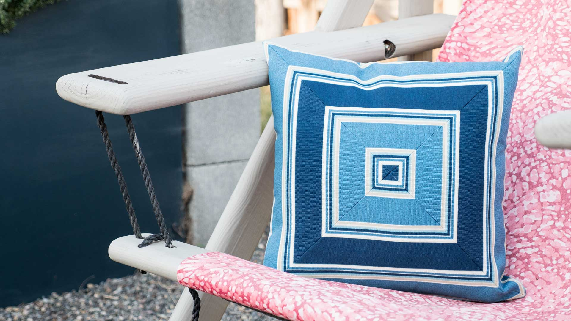 Part Of What Makes An Appealing Patio, Perfect For Entertaining, Is By  Using Cheerful Patio Pillows For Decor.
