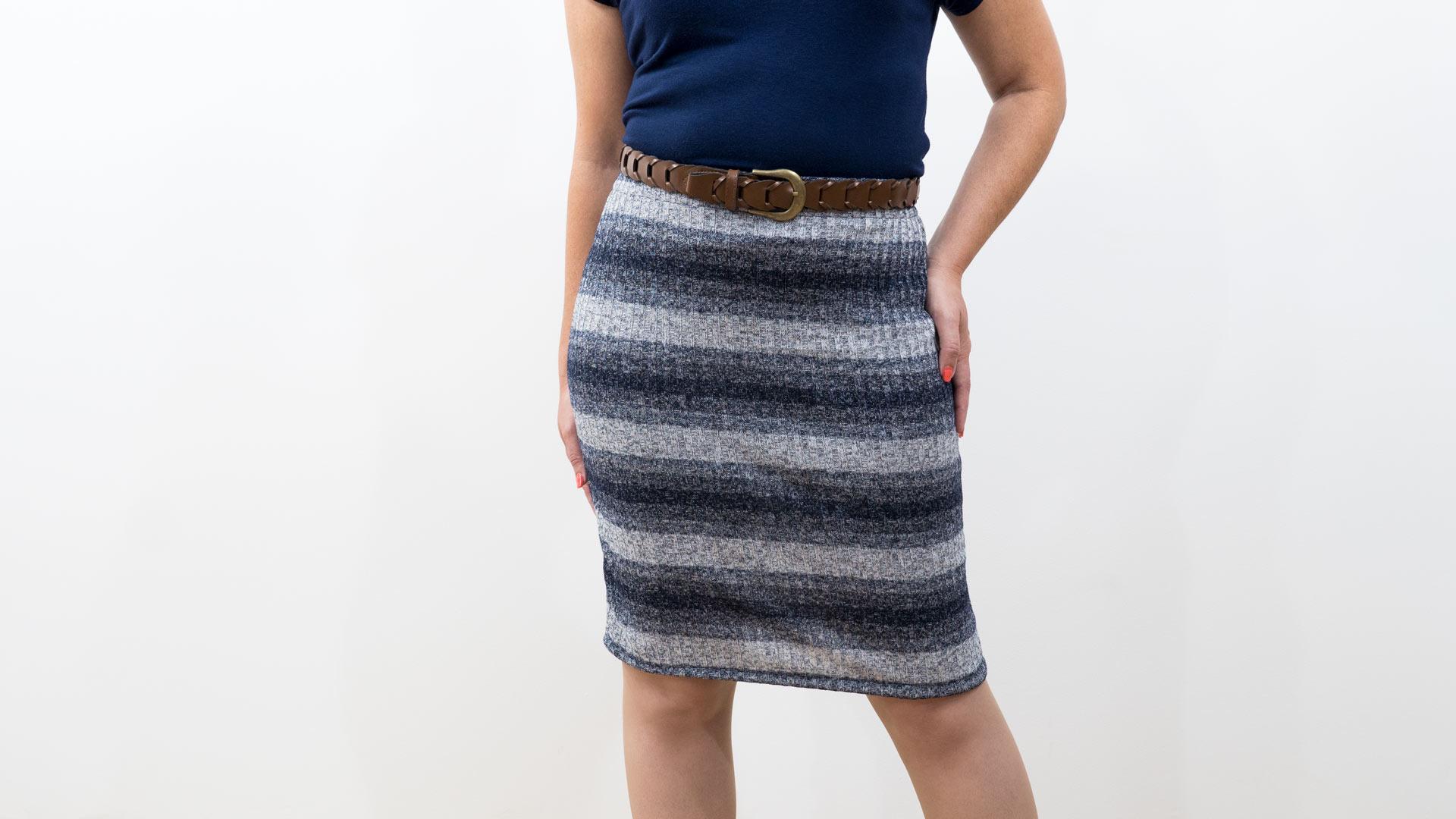 1144ee9665 Knit Pencil Skirt - Professor Pincushion