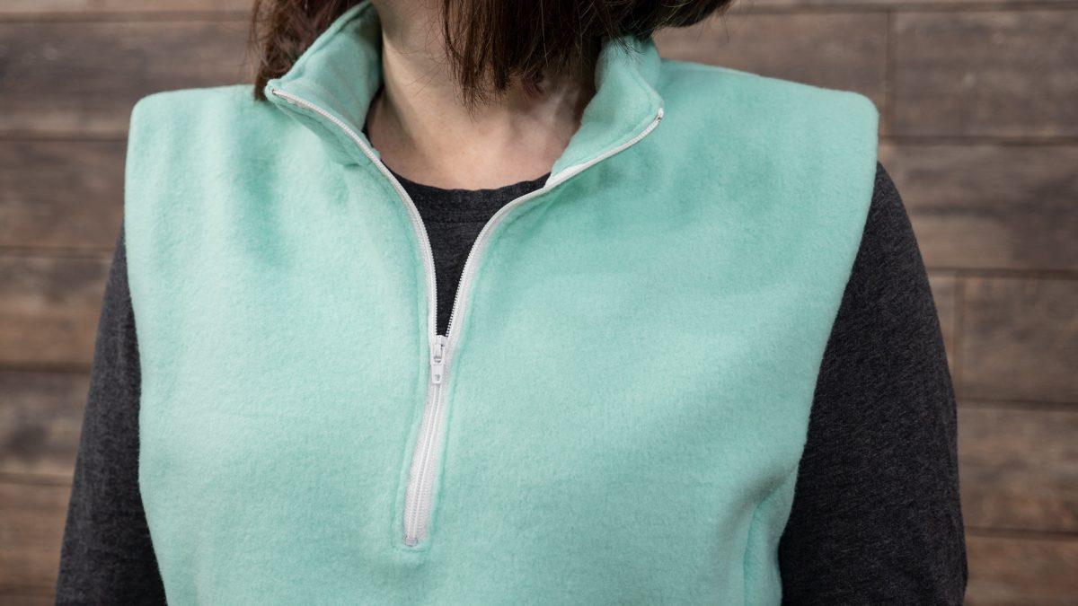 Partial Zipper