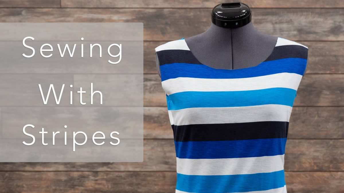 Sewing With Stripes