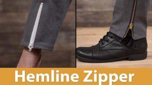Hemline Zipper