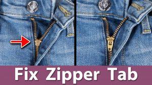 Zipper Tab Repair