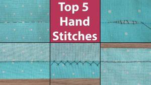 Common Hand Stitches